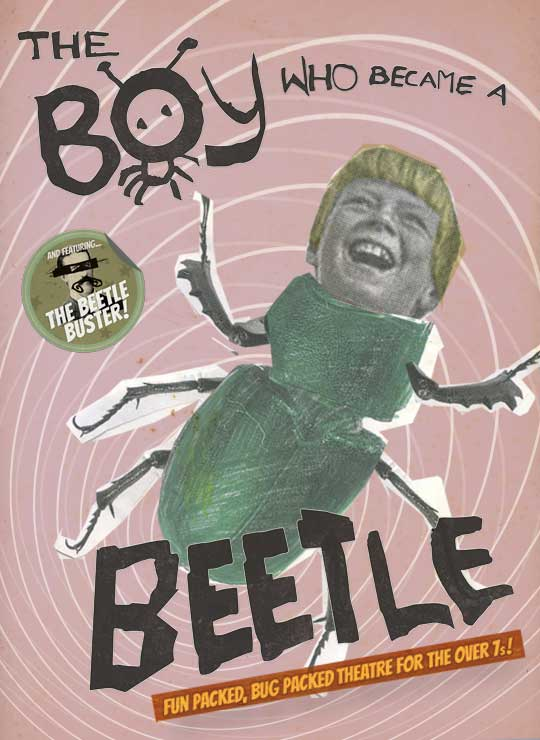 The Boy Who Became A Beetle Poster
