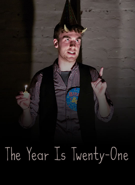 The Year Is Twenty-One Poster